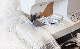 Правила подшивания тюли дома самостоятельно