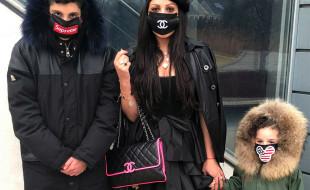 Построение выкройки и пошив маски на лицо