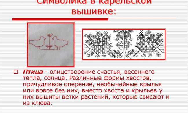 Значение и смысл символики в вышивке крестиком